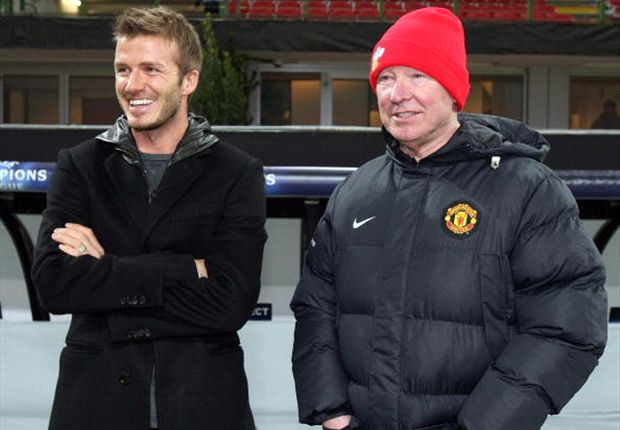 'Thank you boss and enjoy the rest!' - Beckham hails 'father figure' Sir Alex Ferguson