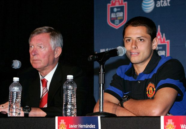 Eric Gomez: Chicharito's future at Manchester United up in the air with Ferguson retiring