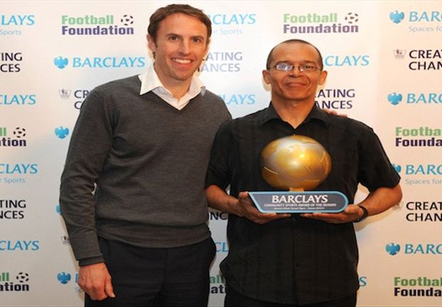 Manneh Elliott wins 2012-13 Barclays Community Sports Award