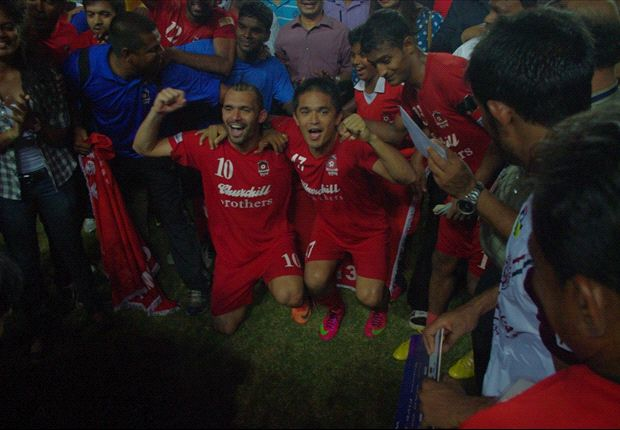 Churchill Brothers 3-0 Air India: The champions sign off in style