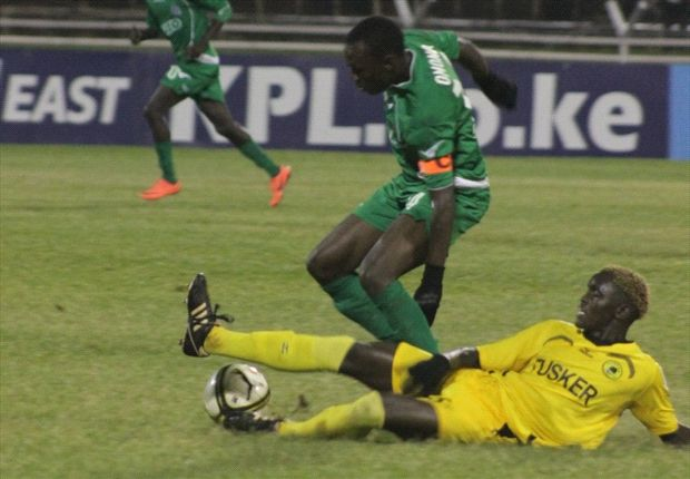 Gor Mahia v Tusker in KPL top 8 match at Nyayo Stadium