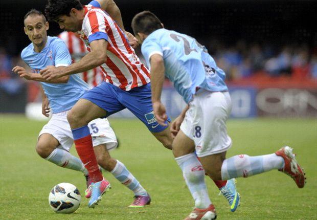 Atletico drukt Celta dieper in zorgen
