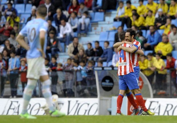 Celta Vigo 1-3 Atletico Madrid: Falcao secures direct entry into next season's Champions League