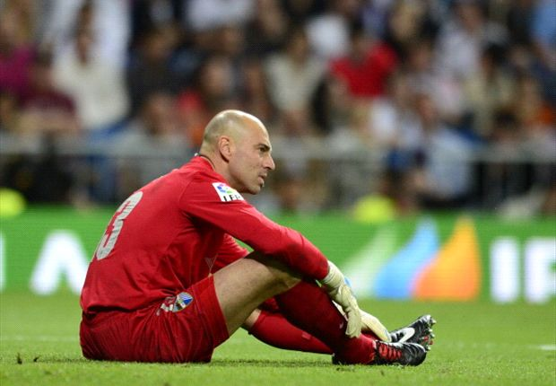 Willy Caballero would jump at the chance to join Barcelona