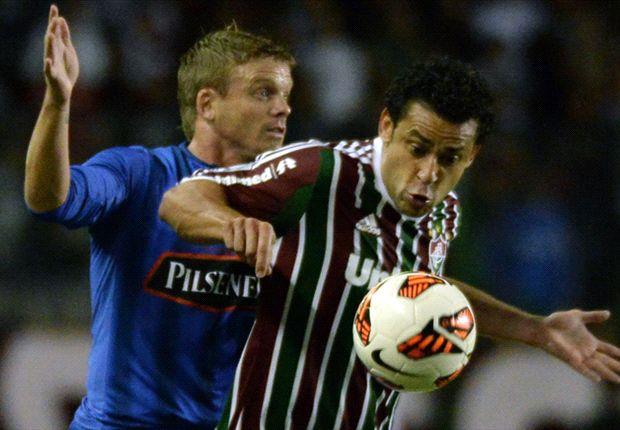 O Fluminense passou dificuldades nas oitavas contra o Emelec.
