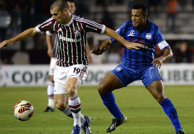 Fluminense deja en el camino al Emelec y avanza a los cuartos de final