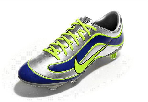 Nike celebra 15 años de Mercurial, los tacos diseñados para Ronaldo Nazario
