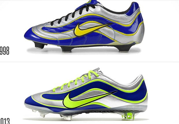 Nike has created a Mercurial Vapor IX inspired by the 1998 design.