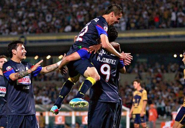 Liga MX: Pumas 0-1 América | Raúl Jiménez anota un solitario gol ante unos Pumas sin garras