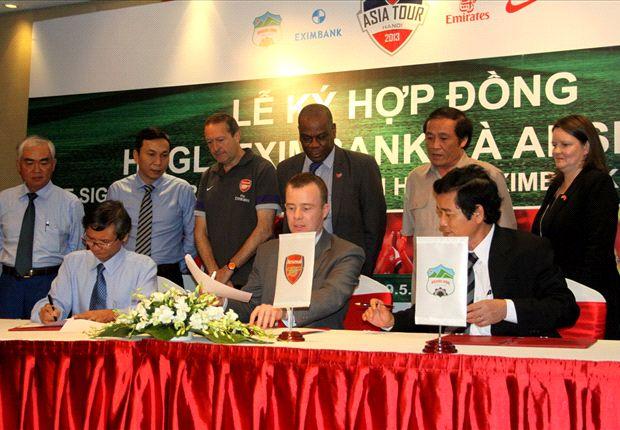 Arsenal Konfirmasi Kunjungan Vietnam
