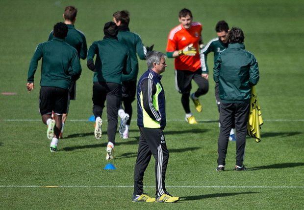 Sederet nama bintang absen menghiasi skuat Madrid di partai terakhir Jose Mourinho