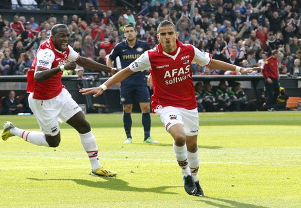 Bevliegingen AZ vellen PSV in finale