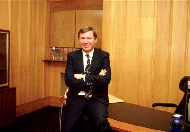 Ferguson antes del Manchester United