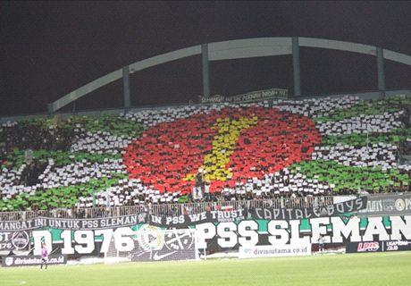 Fans PSS Bentrok Dengan Polisi