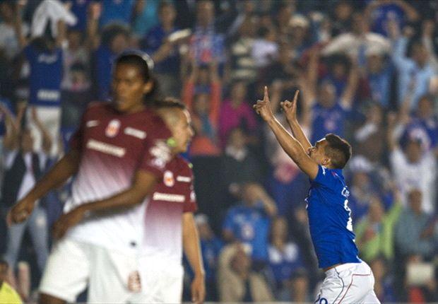 Cruz Azul 4-2 Morelia: La Máquina toma ventaja