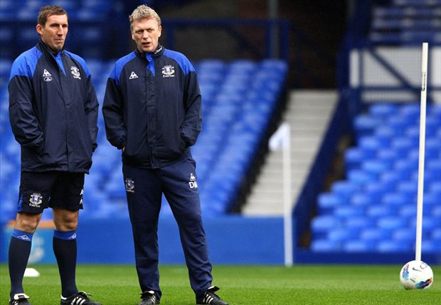 Moyes praat alleen over Everton