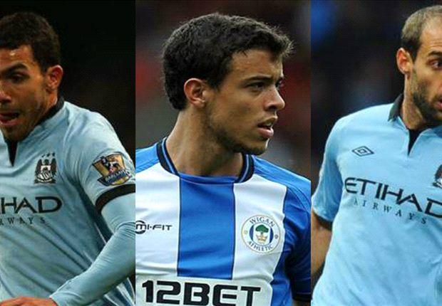Manchester City y Wigan, una FA Cup con sabor latinoamericano
