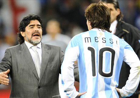 Maradona, mejor que Messi