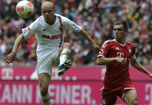 Bayern Múnich 3-0 Ausburgo: Thomas Müller ejerce de mal vecino