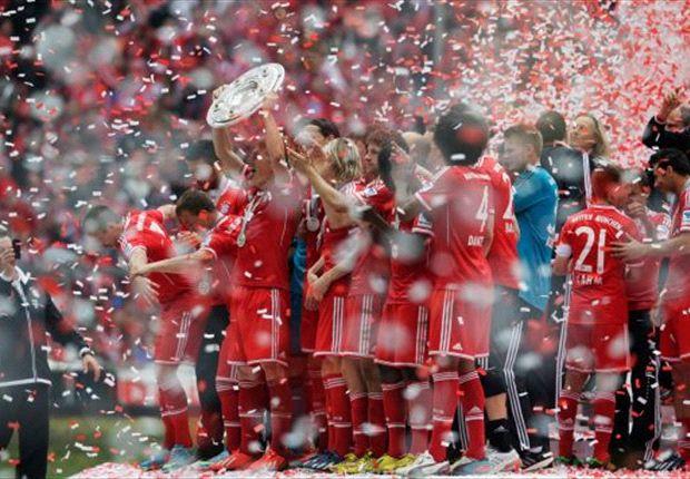 El Bayern Múnich batió todos los récords en la Bundesliga 2012-2013
