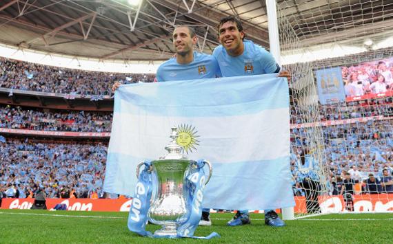 Argentinos en la final de la FA Cup