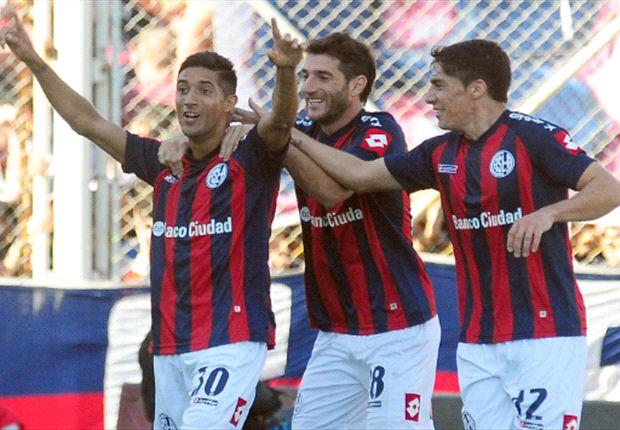 San Lorenzo 3-0 Boca: Santa goleada