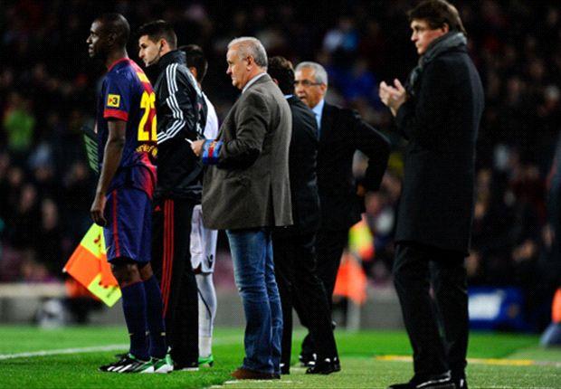 Sandro Rosell insinúa que Abidal podría seguir en el Barcelona