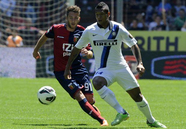 Genoa empató ante Inter y aseguró su permanencia en Serie A