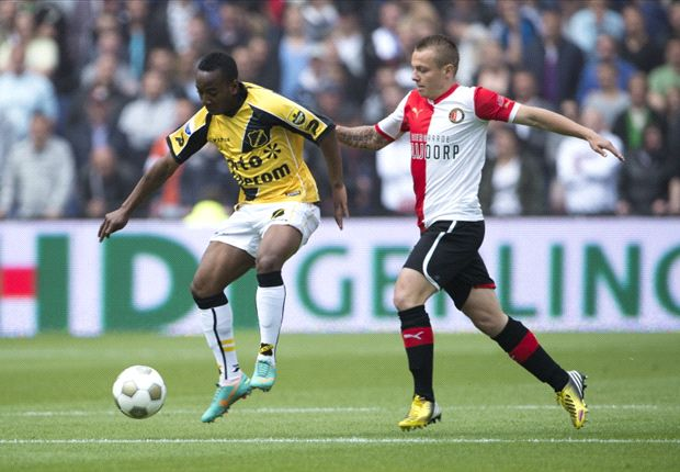 Feyenoord wint en eindigt als derde