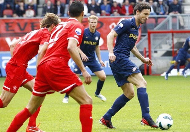 Chadli blinkt uit tegen zwak PSV: 3-1