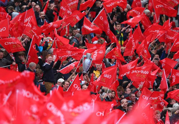 Old Trafford spectacular marks Sir Alex Ferguson's final home game