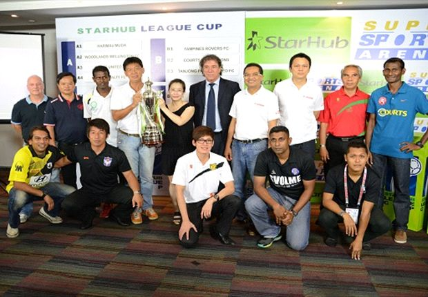 2013 StarHub League Cup groups revealed