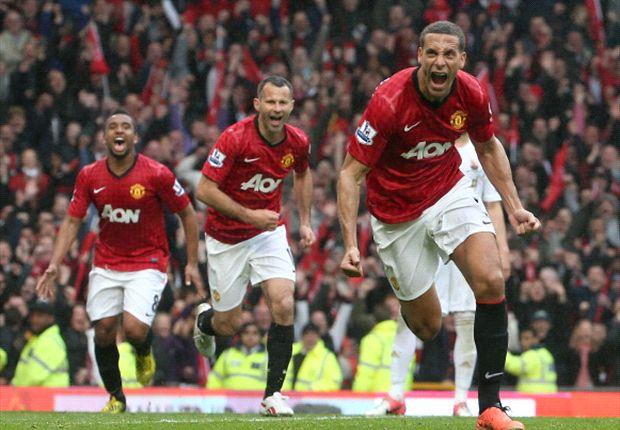 ANG, Man United - Ferdinand va rempiler