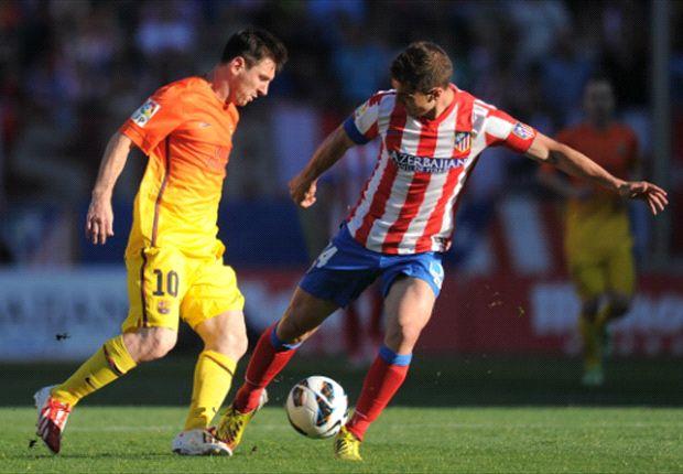Messi se resintió de la lesión