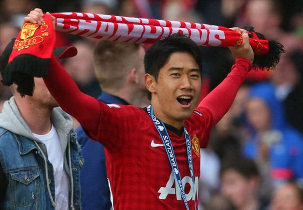 Shinji Kagawa admits he did not meet his own high standards in his first season in England