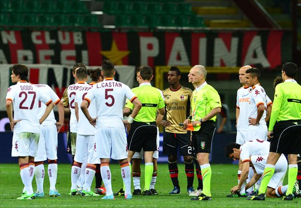 Roma fined after racist chants towards Balotelli