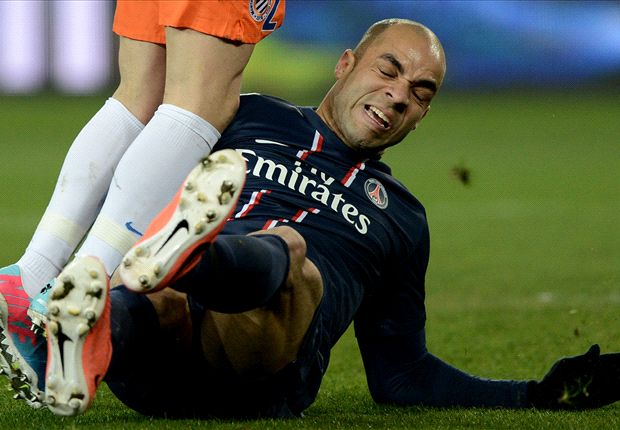 PSG without Alex for Toulouse clash