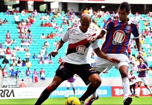 Vitória 0 x 0 Bahia: Tricolor cria mais, mas rivais baianos ficam no empate no clássico