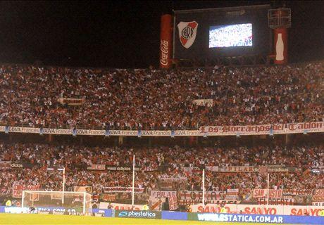 River, el que más hinchas lleva al estadio