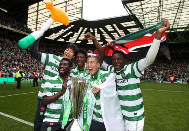 Wanyama crowned Scottish Young Player of the Year