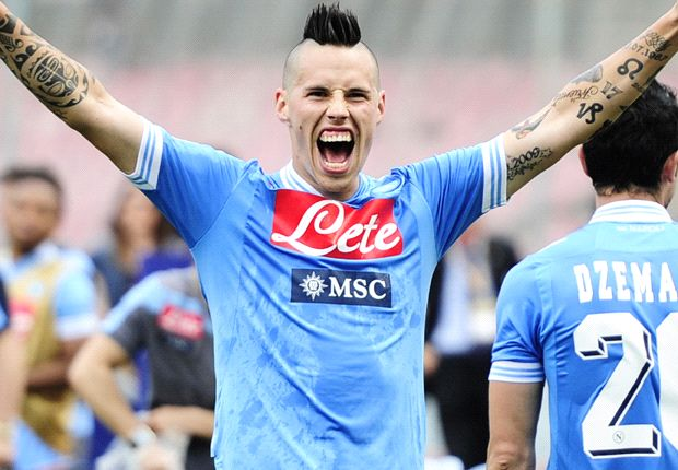 Cavani and Lavezzi gone but loyal Hamsik dreams of being Napoli's Totti