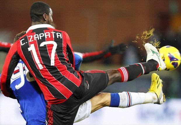 Cristian Zapata reste en Italie