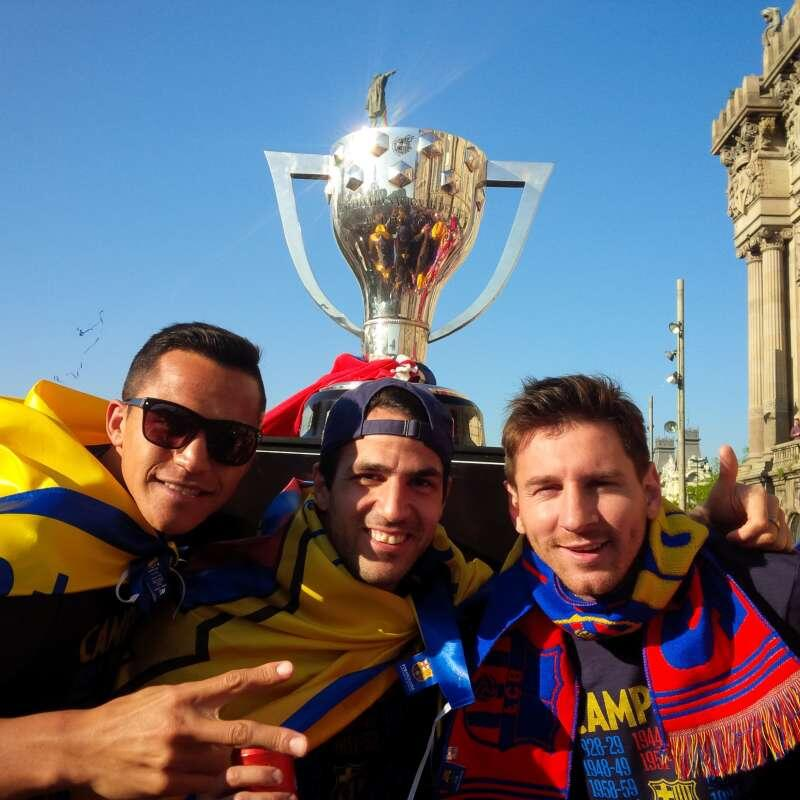 Feest in Barcelona