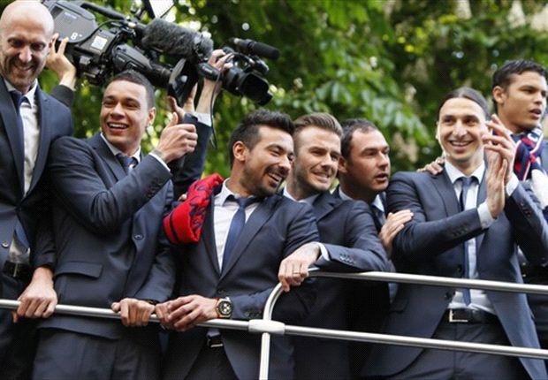 PSG-Meisterfeier von Randale am Eiffelturm überschattet