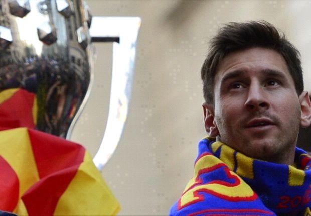 Seizoen ten einde voor Messi