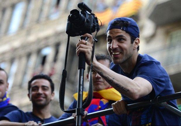 Cesc Fabregas diisukan kembali ke Arsenal setelah tak kunjung mendapat tempat di skuat utama Barcelona