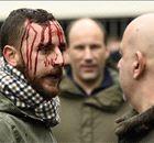 In Beeld: Fans Spurs en Arsenal raken slaags