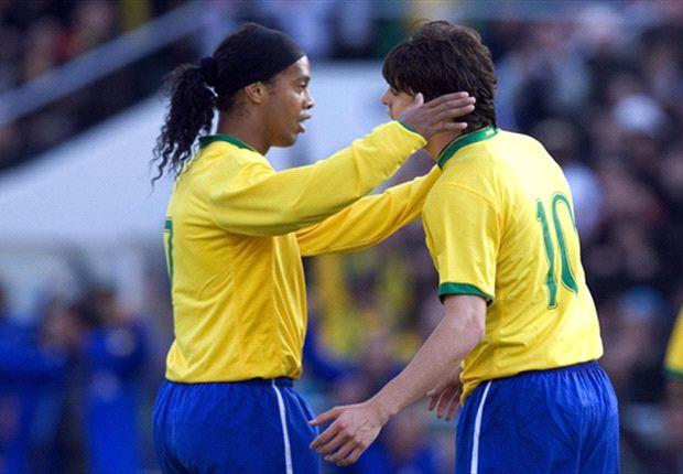 Kaka Dan Ronaldinho Tak Masuk Skuat Brasil Untuk Piala Konfederasi