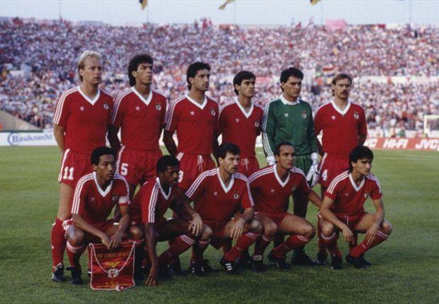 """La formación de Benfica en la final de 1988, quinta de las seis de """"la maldición"""""""