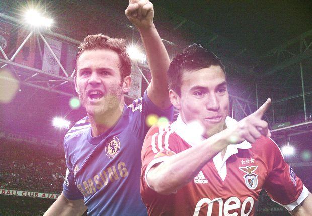 Así llegaron Benfica y Chelsea a la final